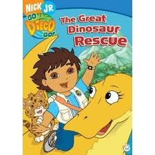 cover Go Diego, Go The Great Dinosaur Rescue