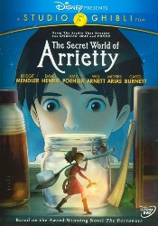 cover The Secret World of Arrietty