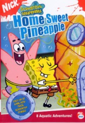 cover Spongebob Squarepants - Home Sweet Pineapple