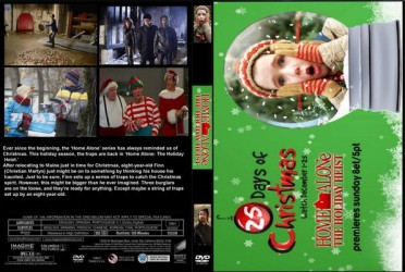 cover Home Alone: The Holiday Heist