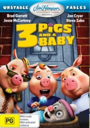 cover Unstable Fables: 3 Pigs & a Baby